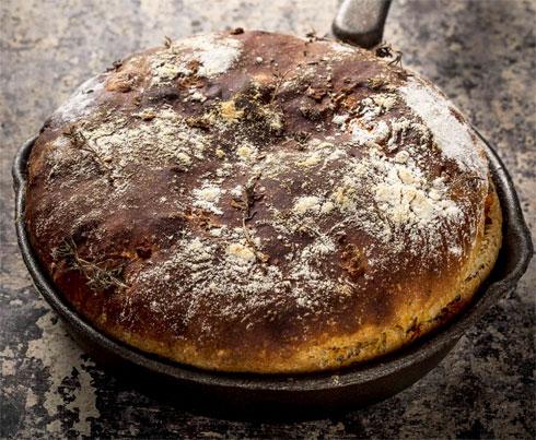 לחם בטטה ללא לישה (צילום: אפיק גבאי)
