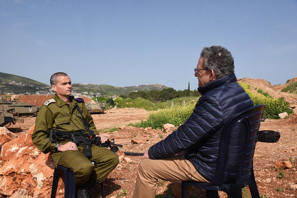 Беседа проходила на Галилейской возвышенности. Фото: Авиягу Шапира