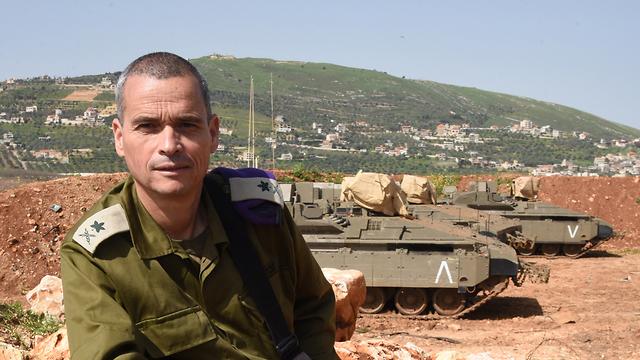 אלוף פיקוד צפון היוצא יואל סטריק (צילום: אביהו שפירא)