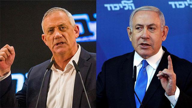 Gantz and Netanyahu both claim the win (Photo: Reuters, MCT)