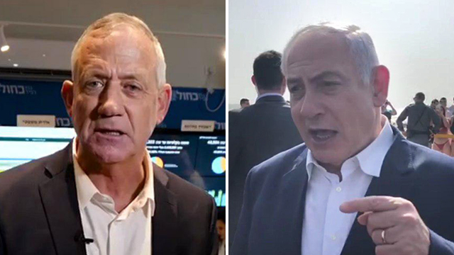 Gantz and Netanyahu make final pleas to potential voters