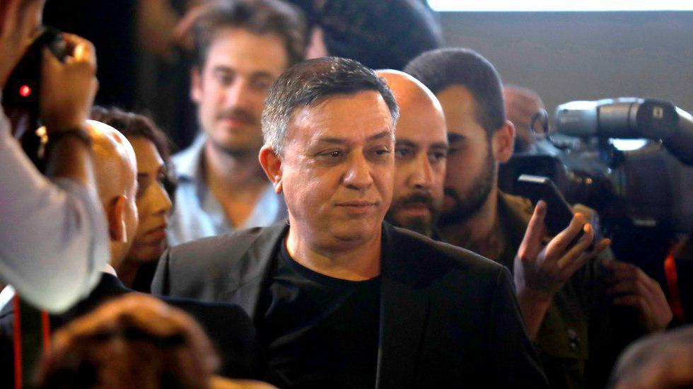 Avi Gabbay reacts to the poor results for Labor in the APril 2019 elections (Photo: AFP)