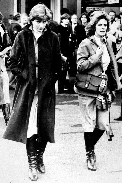 הנסיכה דיאנה ב-1980. תיזכר לעד כאייקון אופנה (צילום: GettyimagesIL)