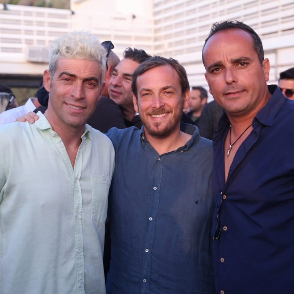 הראל בלו, אסף זמיר ורונן מיילי (צילום: מיקה גורוביץ)