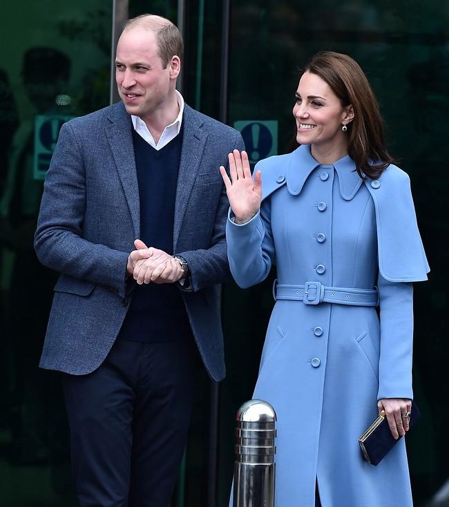 מתמודדים עם השמועות. קייט מידלטון והנסיך וויליאם (צילום: Gettyimages)