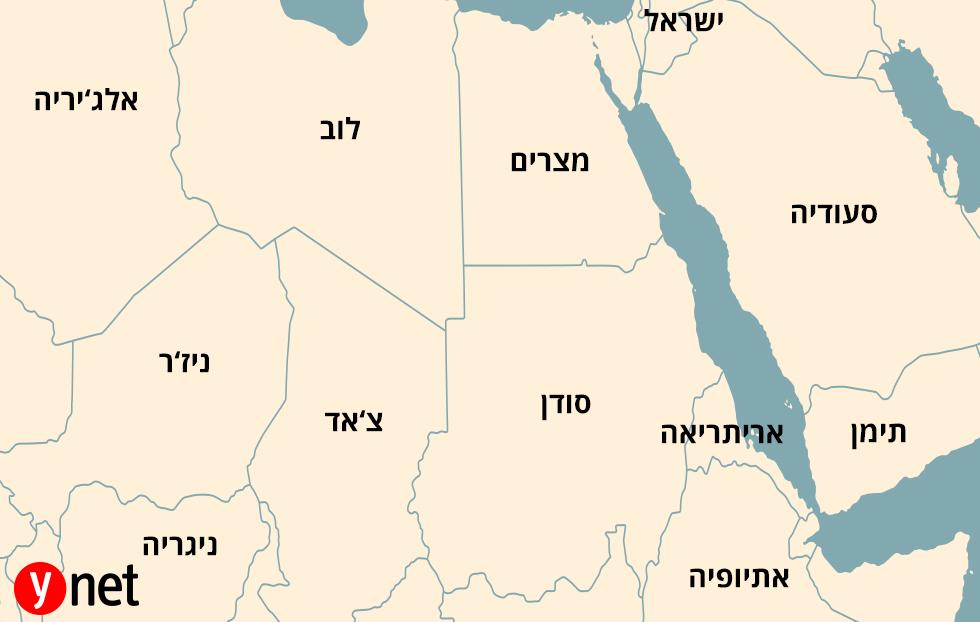 מפה סודן ()