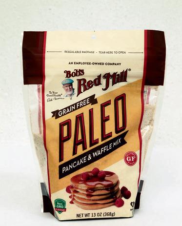 PALEO, תערובת להכנת פנקייק וּוופל, של Bob's Red Mill