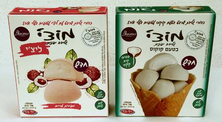 מוצ'י גלידה יפנית, קוקוס/ליצ'י, Buon