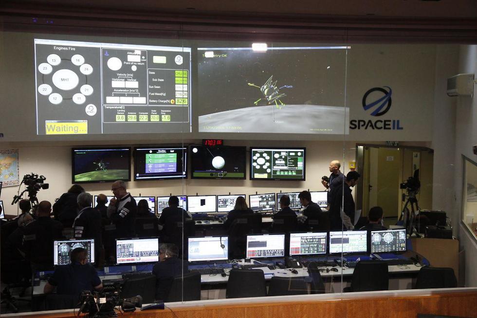Control room in Yehud