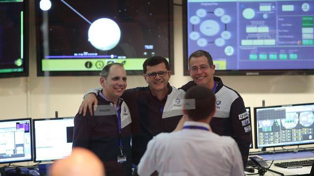 Beresheet's team on Earth, preparing for the moon landing (Photo: Moti Kimchi) (Photo: Moti Kimchi)