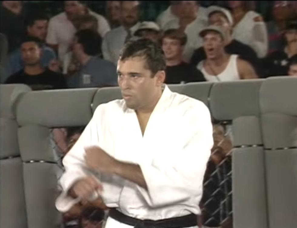 רויס גרייסי בשנות ה-90 (צילום מסך)