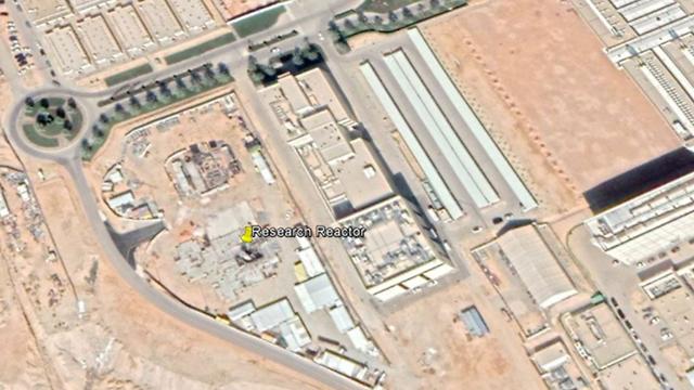 מתקן גרעין כור גרעיני סעודיה ליד ריאד (צילום: Google Earth)