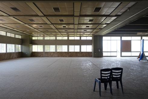 כרגע אין תוכנית לחידוש פעילות הבניין (צילום: מיכאל יעקובסון)