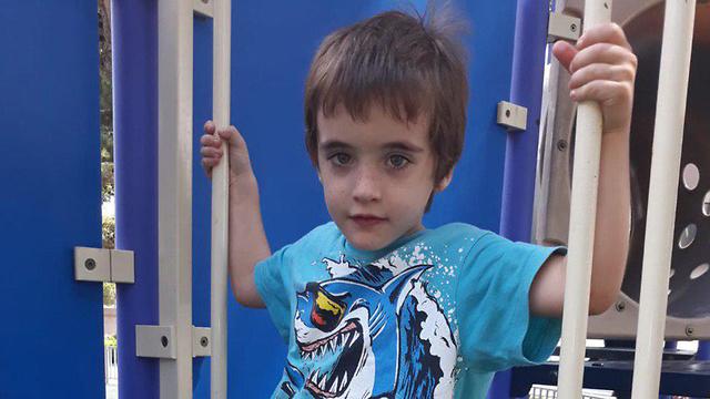 ליעד הרוש בן ה-6 שטבבע בסוף השבוע בחוף הים בנהריה ()