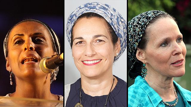 Iris Yifrach, Bat Galim Shaer and Rachel Frenkel (Photo: Yariv Katz, Motti Kimchi, Michal Giladi)