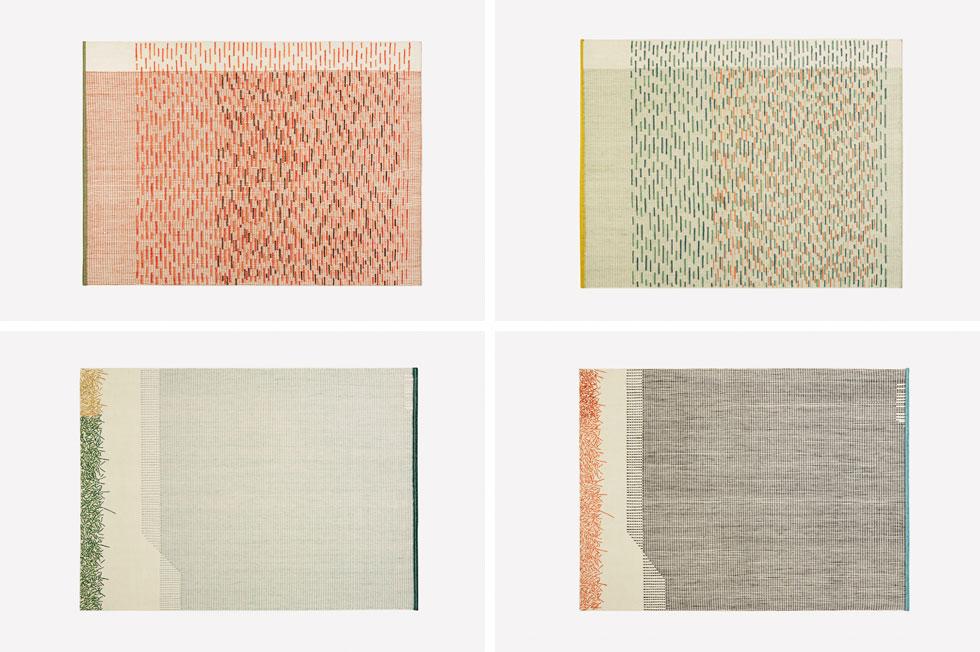 קולקציית השטיחים שמר ואלקלעי יצרו לחברת Gan הספרדית, בשיתוף פעולה עם רוקמות בהודו. הוציאו לקדמת השטיח דווקא את ''הבלגן של החוטים'' מאחור