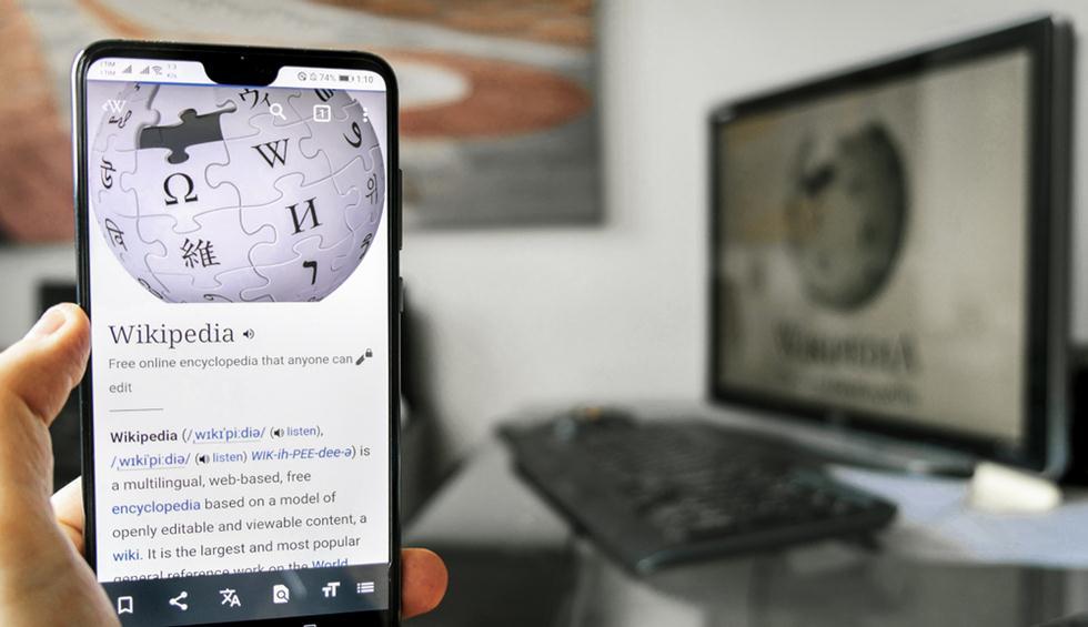 ויקיפדיה בסלולר (צילום: shutterstock)