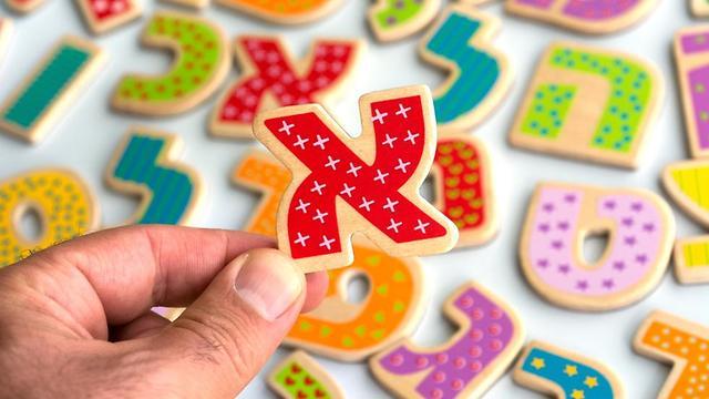 Hebrew alphabet (Photo: Shutterstock)