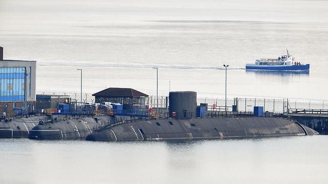צוללות גרעיניות של חיל הים הבריטי בריטניה (צילום: gettyimages)