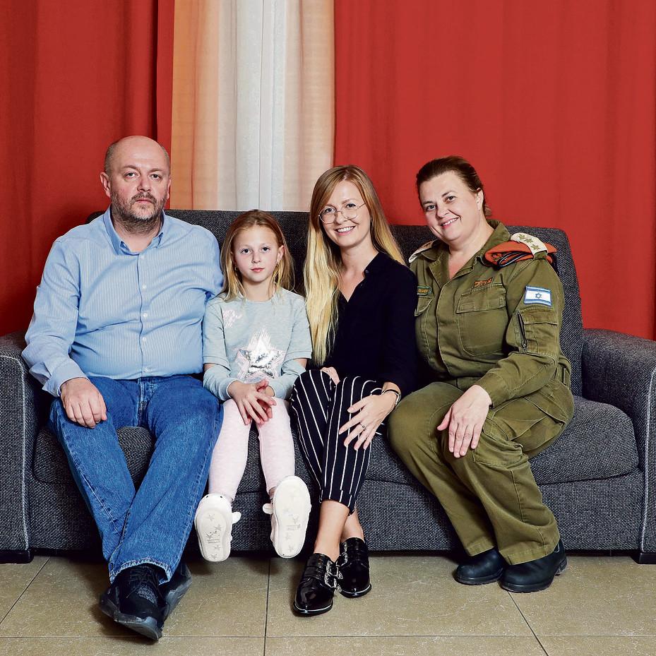 משפחת אולגה פוליאקוב | צילום: דנה קופל
