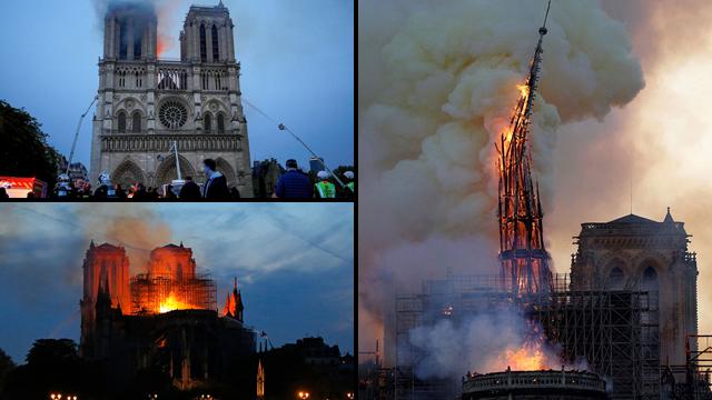 Так горит собор