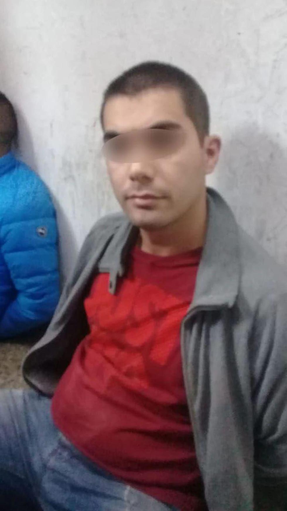 """""""Коко"""" - главный подозреваемый в нападении и ограблении. Фото: полиция Буэнос-Айреса"""