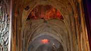 Notre Dame Cathedral aflame (Photo: Associated Press)