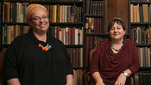 הרבניות שעתרו, שרה סגל כץ ורחל קרן (צילום: אוהד צויגנברג)