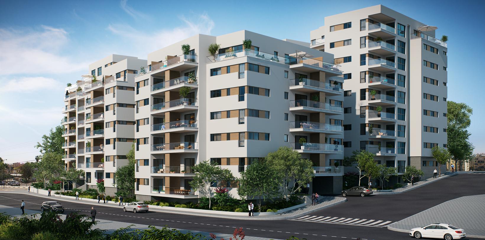 """NEXT הרא""""ה, רמת גן - פרויקט פינוי-בינוי של החברה להתחדשות עירונית (באדיבות החברה להתחדשות עירונית)"""