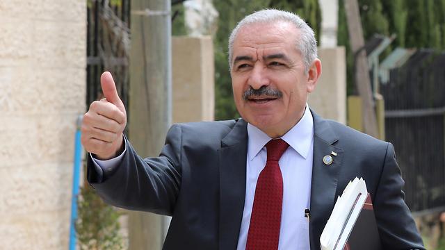 מוחמד אשתייה ראש ממשלה פלסטינית פלסטיני פלסטינים הרשות הפלסטינית (צילום: EPA)