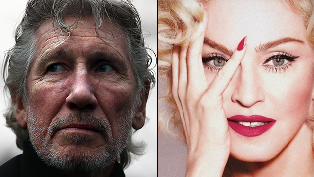 Roger Waters vs Madonna (Photo: Getty Images)