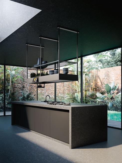 לא רק אלמנט עיצובי - קולט אדים שומר על חזיתות המטבח ועל הארונות   Falmec מבית גולן ווסטליין (Falmec מבית גולן ווסטליין)
