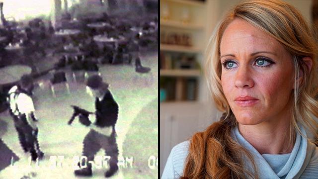 20 שנה ל טבח קולומביין קייסי ג'ונסון ניצולה (צילום: AP)