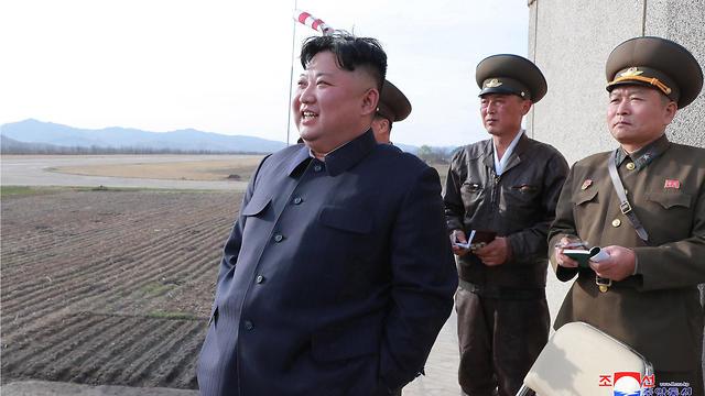 צפון קוריאה ערכה ניסוי בנשק טקטי חדש (צילום: AFP)