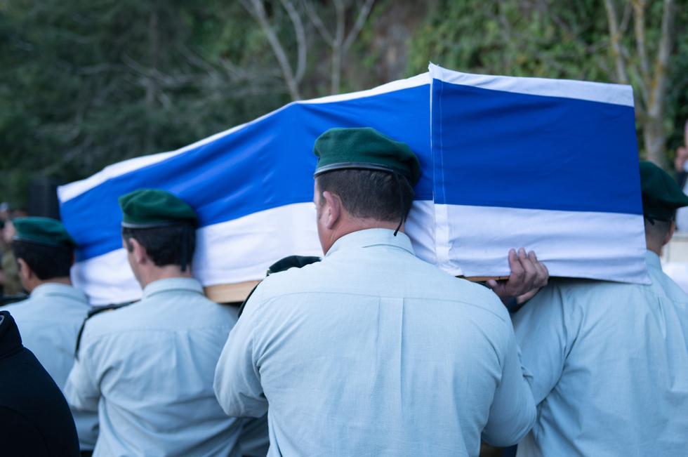 Funérailles d'un officier tué lors d'une opération de commando à Gaza, novembre 2018 (Photo: porte-parole des FDI)