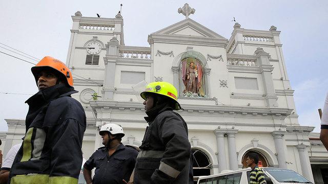 פיצוץ בסרי לנקה קולובו (צילום: AP)
