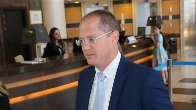 Глава переговорной группы НДИ - депутат кнессета Одед Форер. Фото: Моти Кимхи