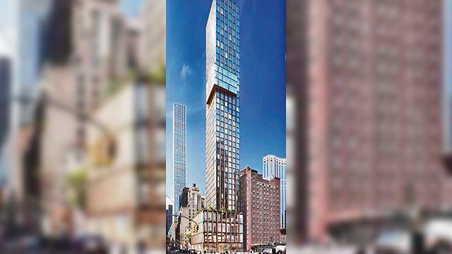 מגדל ניו יורק צחי חג'ג'   (הדמיה: באדיבות צחי חג'ג' )