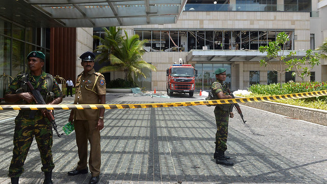 luxury Shangri-La Hotel in Colombo (צילום: AFP)