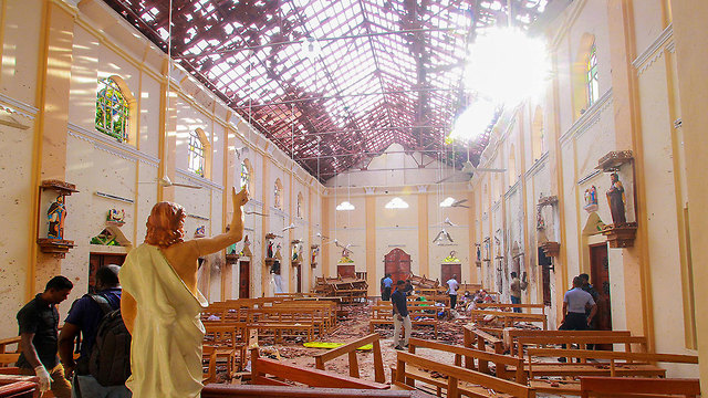 St. Sebastian church where dozens of people were killed (Photo: Reuters)