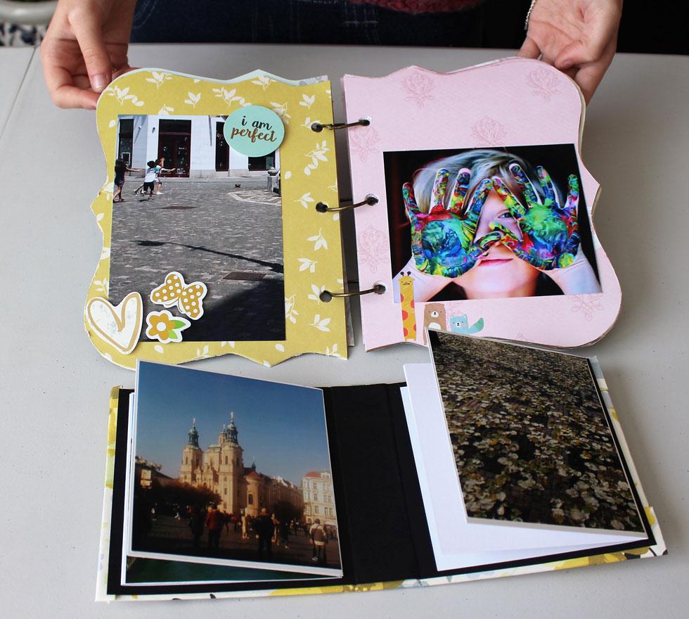 צבעוניים, מיוחדים ואוצרים את הזיכרונות הכי משמעותיים. האלבומים של טל (צילום: ברכה-לנד עיצוב בנייר)