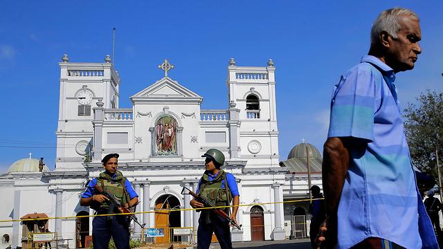 סרי לנקה מתקפת טרור פיגועים כנסיית סנט אנתוני ב קולומבו (צילום: AP)