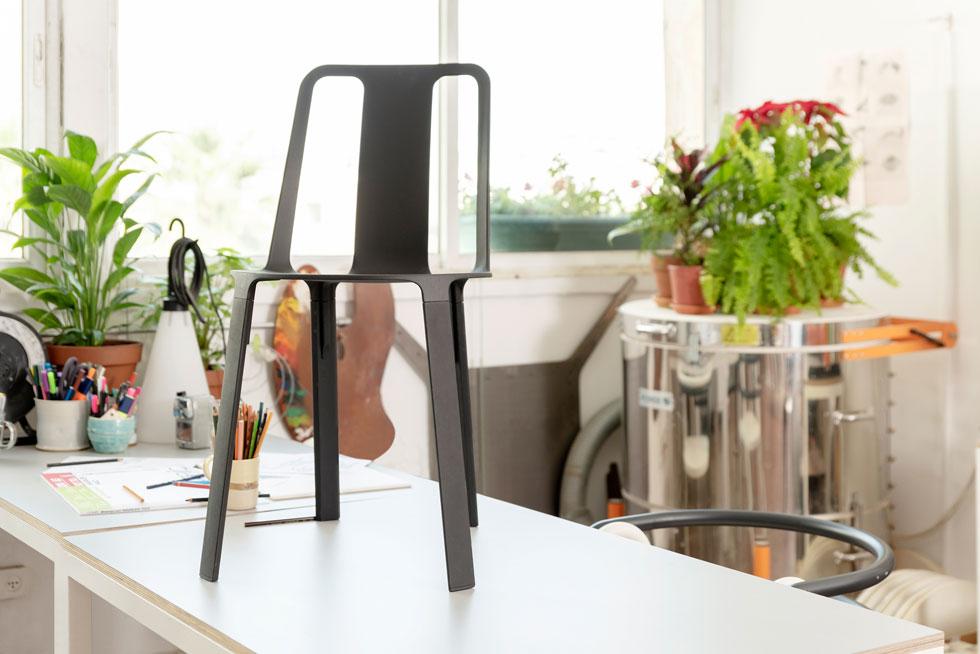 Vela, הכיסא שעיצבו גילי קוצ'יק ורן אמיתי ל-Magis