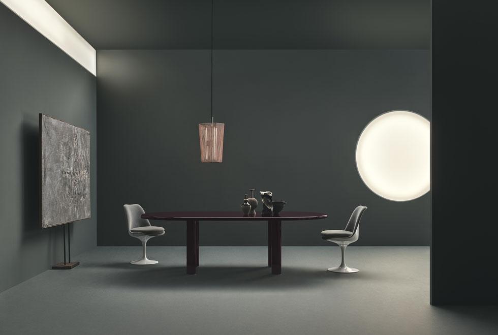 Smalto, השולחן שעיצבו ל-Knoll הדואו הבריטי Barber & Osgerby