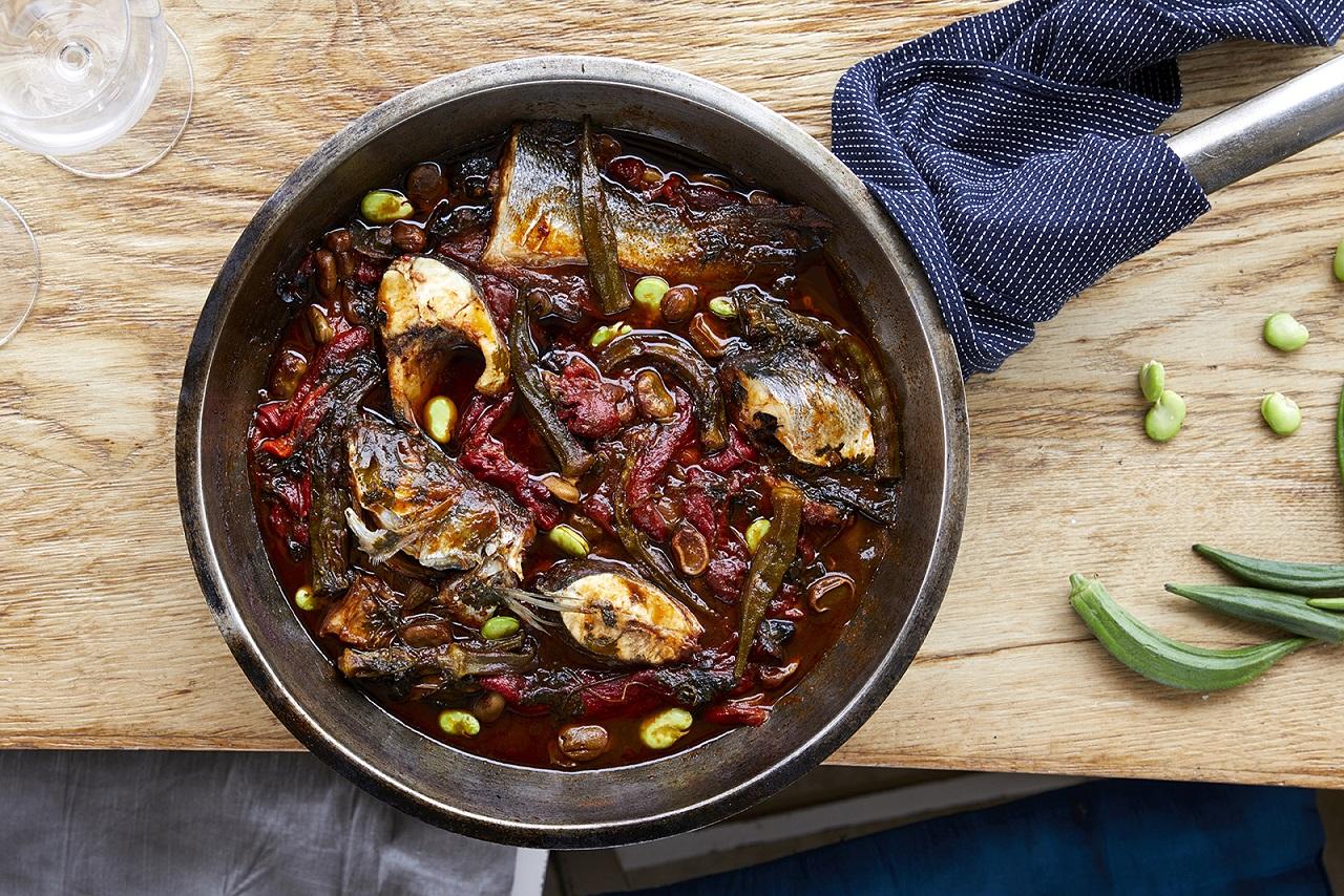 מתכוני דגים של עמוס שיאון (צילום: אפיק גבאי)