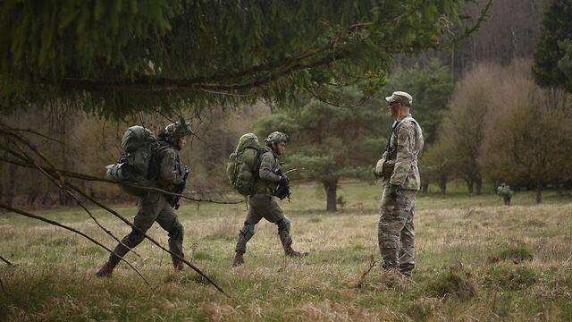 Учения десантного батальона ЦАХАЛа в Германии. Фото: пресс-служба ЦАХАЛа