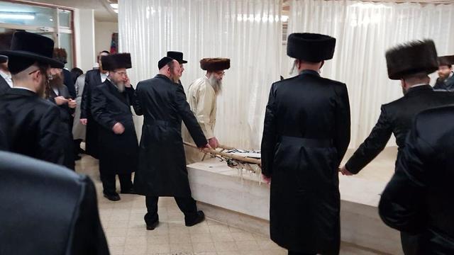 הלוויה של ברוך אייזנברג ()