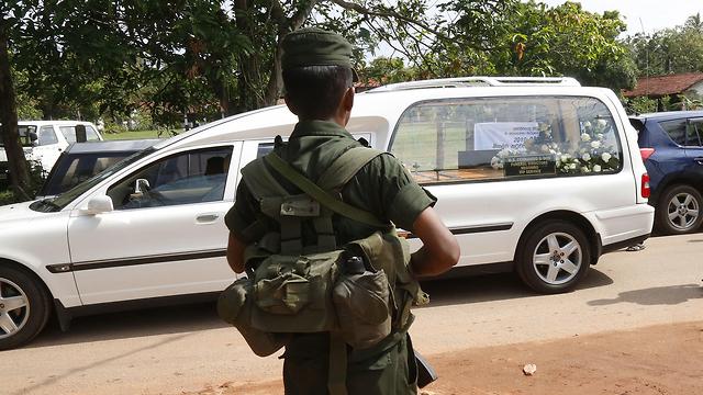 סרי לנקה מתקפת טרור קולומבו (צילום:EPA)
