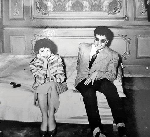 ויקטור ואיבון, ההורים הביולוגים. הוא לא יכול היה להתגבר על האובדן  (צילום: אלבום פרטי)