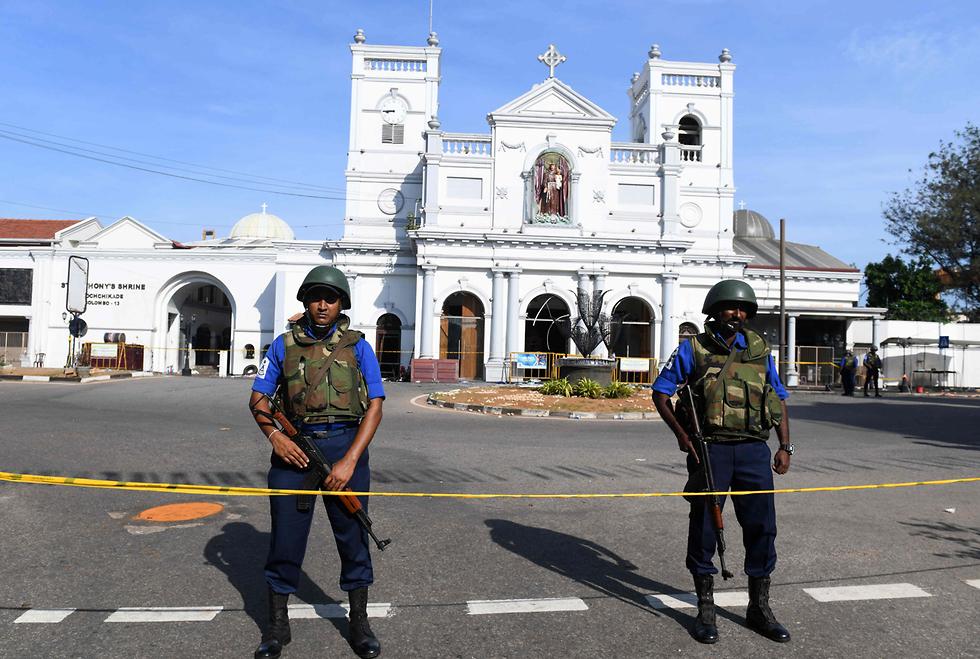 סרי לנקה מתקפת טרור קולומבו (צילום: AFP)